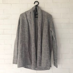 Ann Taylor chunky knit open front cardigan